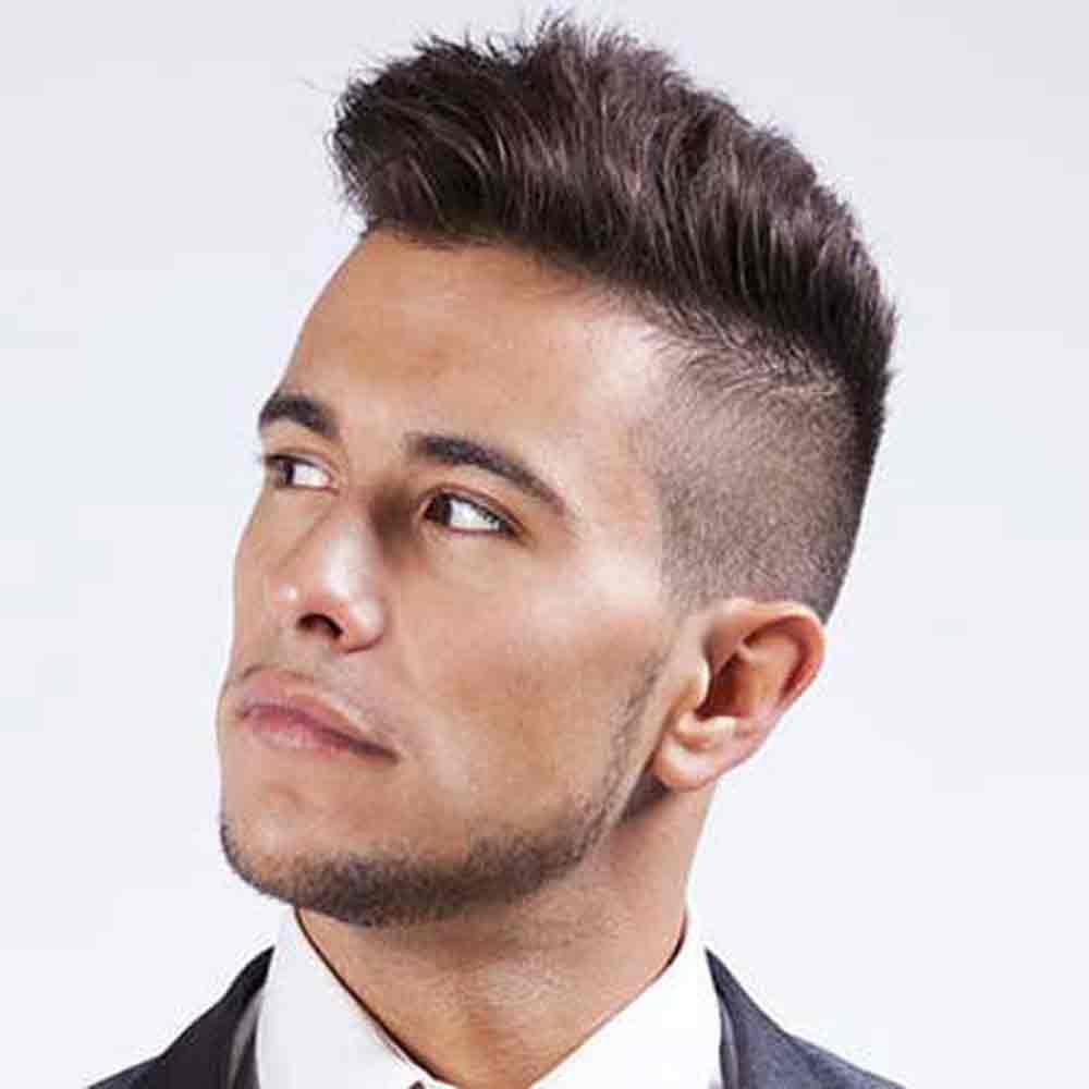 Фото стильных причесок на средние волосы для мужчин